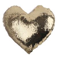 Наволочка ХАМЕЛЕОН сердце СТАНДАРТ (золото)