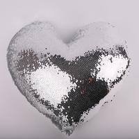 Наволочка ХАМЕЛЕОН сердце СТАНДАРТ (серебро)