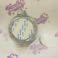 Шарик елочный с серебро наполнителем