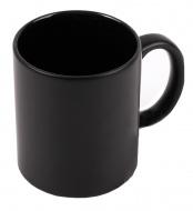Кружка ХАМЕЛЕОН черная, внутри ЧЕРНАЯ