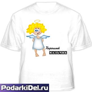 Футболка детская 2-х сл. субл. БЕЛАЯ 22-40р