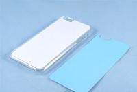 Чехол силиконовый IPhone 7/8 прозрачный (вставка под сублимацию)