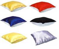 Подушка с наволочкой 40х40см (цвета в ассортименте)