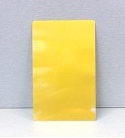 Визитка металл 0,9мм / золото (без орнамента)