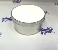 Шкатулка металличкская в форме круга для сублимации