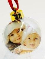 Шарик елочный (новогодний) d=78 мм (в пакете)