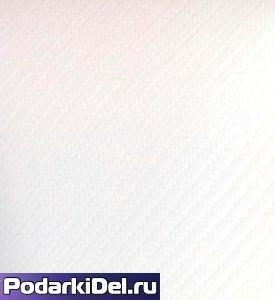 Т/пленка Chemica hotmark fashion матовая 50x100см матовая БЕЛЫЙ КАРБОН (1м)