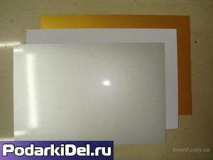 Пластик pvc (СЕРЕБРО) для струйной печати (200х250mm) толщина 0,3mm (1лист)