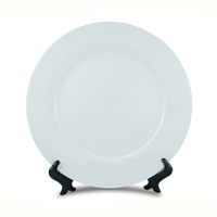 Тарелка белая d-20см