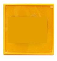Фотомагнит КВАДРАТ (желтый) 65х65мм