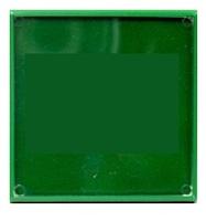 Фотомагнит КВАДРАТ (зеленый) 65х65мм
