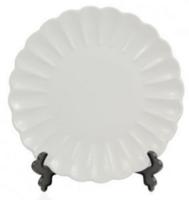 Тарелка d-16см фарфоровая волнистая для Вакуумной Машины
