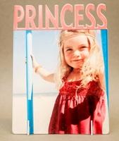 """Фоторамка металл """"Princess"""" 168x122х2мм (для сублимации)"""