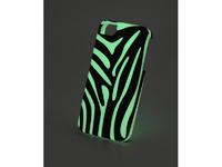 """Чехол пластиковый IPhone 6 """"флуоресцентный""""белый"""" глянец (для вакуумной машины)"""