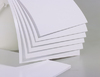 Пластик pvc (БЕЛЫЙ) для струйной печати (200х250mm) толщина 0,3mm (1 лист)