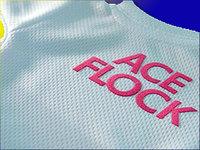 Термоплёнка (розовая) флок на прозр. основе 0.5х50 ACE-FLOCK-301-007 (за 1м)