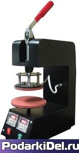 Термопресс для ТАРЕЛОК (механическое управление / 350Вт / 12,5 - 15,5см / таймер / стальной корпус)
