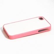 """Чехол пластиковый """"розовый"""" для IPhone 4/4S"""