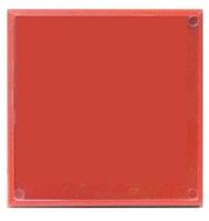 Фотомагнит КВАДРАТ (красный) 65х65мм
