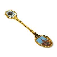 Ложка сувенирная под смолу (золото)