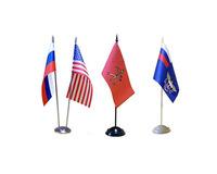Флаг под сублимацию 14х21см (таффета) 60г/м2 (без флагштока)