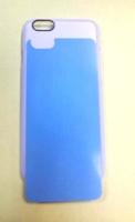 """Чехол пластиковый IPhone 6 """"прозрачнный"""" (+вставка для сублимации)"""