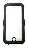"""Чехол силиконовый IPhone 6 """"черный"""" водонепроницаемый (вставка под сублимацию)"""