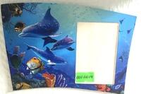 """Картонный магнит """"Дельфины"""" (145х101мм)"""