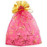 Мешочек для подарков 23х30см (цвета в ассортименте)