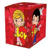 """Коробка подарочная для кружки """"Love is"""""""