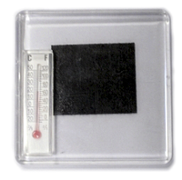 ФотоМАГНИТ с термометром (65*65мм)
