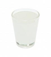 Рюмка стеклянная низкая (без каемки) h-6.2см, 90мл