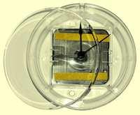 Часы акриловые круглые d-11см (на магните)